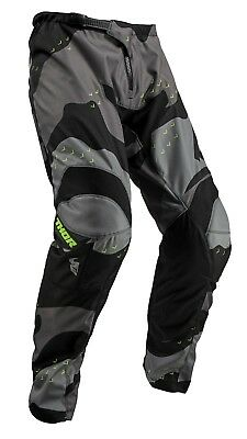2019 Thor Sector Camo Grey Offroad MX Motocross Race Pants Adult