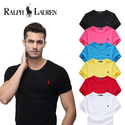 New POLO Men's Casual Shirt short Sleeve Shirts T-shirts Big Size S~6XL 7 Colors