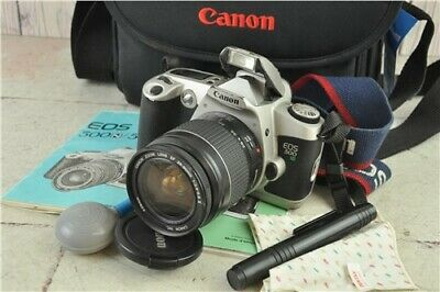 Untested Canon EOS 500N 35mm Film SLR Camera With Canon 28-80mm Lens With Case