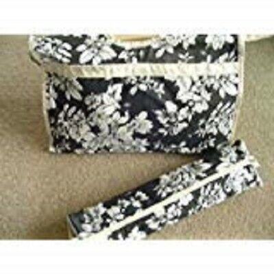Wooden Handle Fabric Knitting Bag and Needle Bag