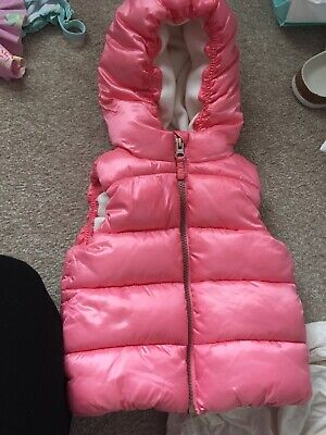 Baby Girls Next 12-18 Months Body Warmer/ Gilet