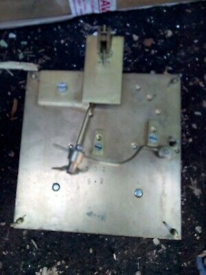 Vintage Unbranded Chime Clock Movement. Possibly 8 Day. ( Spares or repair)