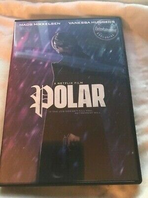 Polar (Dvd,2018)****New Release Ships Now Free Shipping*****Region 1****