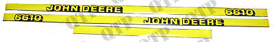 John Deere 6610 Decal Kit