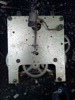 Vintage Kienzle Chime Clock Movement. Possibly 8 Day ( Spares Or Repair Only)