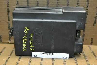 07-08 kia spectra fuse box junction oem 919592f100 module 651-11d5