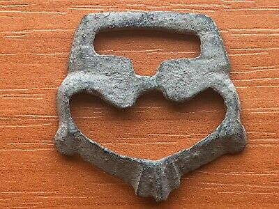 Ancient Byzantine Medieval Bronze Buckle Circa 900-1200 AD Very Rare