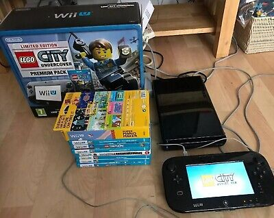 Nintendo Wii U Lego Undercover Premium Pack With 7 Good Games