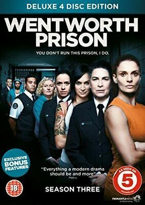 WENTWORTH PRISON the complete third season series 3. Four discs. New sealed DVD.