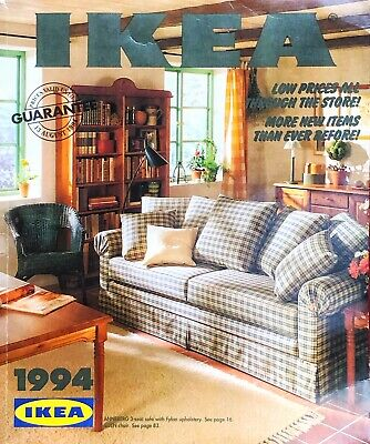 IKEA CATALOGUE 1994  Vintage Retro Styling Source Material