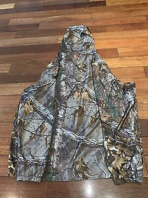 192e696141ca6 FIELD & STREAM LIGHTWEIGHT PACKABLE RAIN HUNTING JACKET Mens Size extra  Large