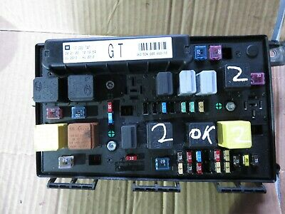 VAUXHALL ASTRA H Zafira B Fuse box Relay GT 2005 -2010 TESTED on