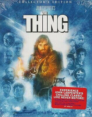The Thing (1982) - Scream Factory 2-Disc Blu-Ray - With Oop Rare Slipcover - New