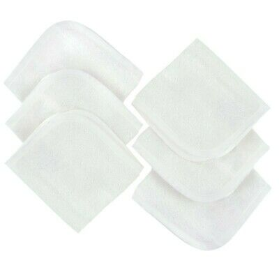 4Baby Face Washer Bamboo Cotton 6 Pack
