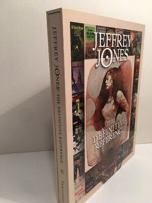 JEFFREY JONES The Definitive Reference. DELUXE FIRST EDITION HARDCOVER. LTD.400