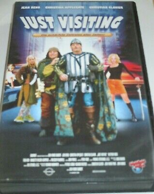 Highlight Video 8113 - Just Visiting - VHS/Komödie/Jean Reno/Christina Applegate