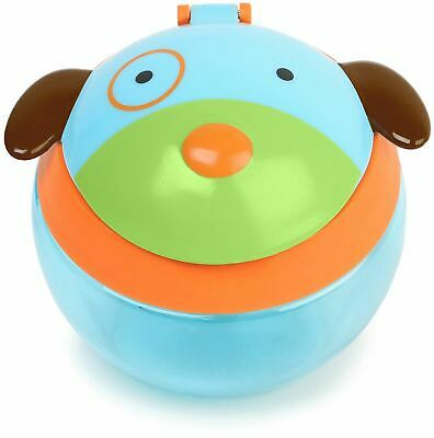 Skip Hop ZOO SNACK CUP - DOG Baby Feeding Cups Dishes Utensils BNIP