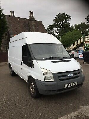 Ford transit van,2008,high top