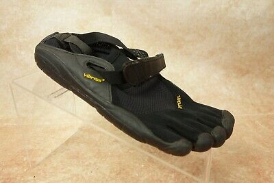 Vibram Five Fingers Classics KSO Black Strapped Running Shoes Womens 39 7/7.5US