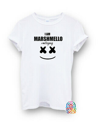 DJ Marshmellow Electronic Dance Music Urban T-shirt Vest Top Men Women Unisex