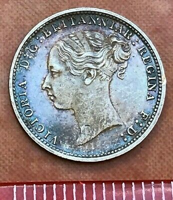 Nice Victoria Young Head Threepence 1883 (my ref #34)