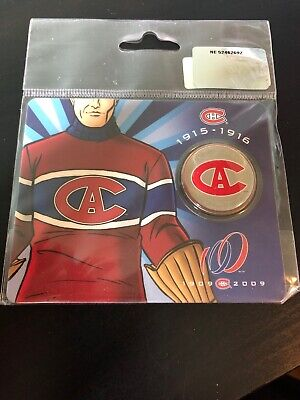 2009 Canada 50 cents Montreal Canadiens  1915-1916