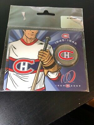 2009 Canada 50 cents Montreal Canadiens  1945-1946