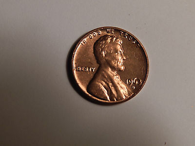 1963 D Lincoln Cent Penny BU/UNC from mint Estate Sale $.99