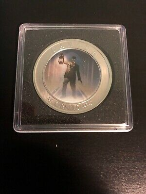 2015 Haunted Canada #2  Brakeman 25-cent Lenticular Coin