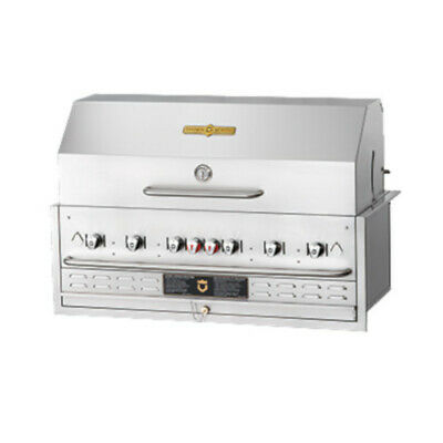 Crown Verity CV-BI-48PKG-LP 6-Burner Liquid Propane Built-In Outdoor Charbroiler