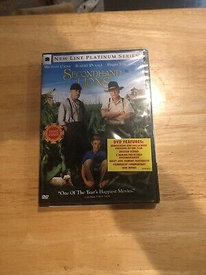 Secondhand Lions [New DVD] Full Frame, Subtitled, Widescreen New Sealed!