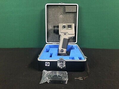 MINOLTA LAND CYCLOPS 330S Handheld Infrared Thermometer w/ Case and Key