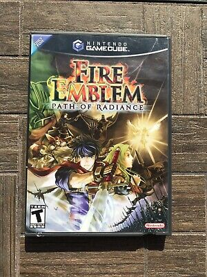 Fire Emblem: Path of Radiance (Nintendo GameCube) Authentic Case And Art Only
