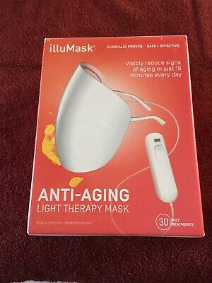 illuMask Anti Aging Light Therapy Mask - Brand New In Box! - Ships Fast!!!