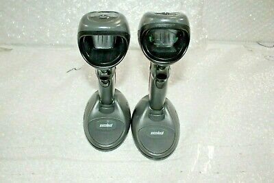 Motorola Symbol DS9808-SR00007NNWR Barcode Scanner Lot of 2 @A68