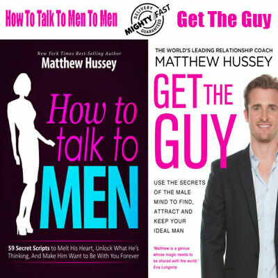 How To Talk To Men and Get The Guy By Matthew Hussey (Digital Book)