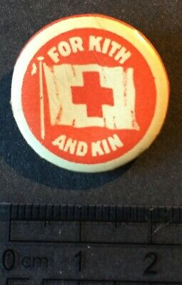 Australia. Badge For Kith and Kin. Red Cross.