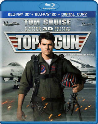 Top Gun (Bilingual) (Blu-Ray 3D + Blu-Ray 2D + Digital Copy) (Blu-Ray) (Blu-Ray)