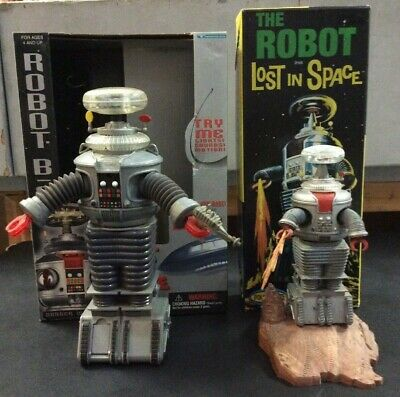 Lost In Space B9 Robot Trendmasters Works Polar Lights Painted Model Kit Toy Lot