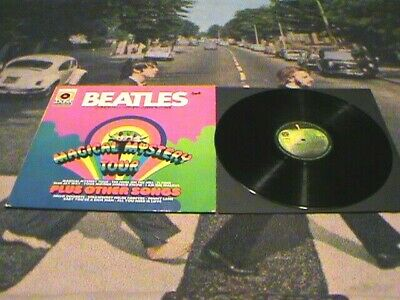 Magical Mystery Tour 1971 Apple First Pressing Import From Germany True Stereo