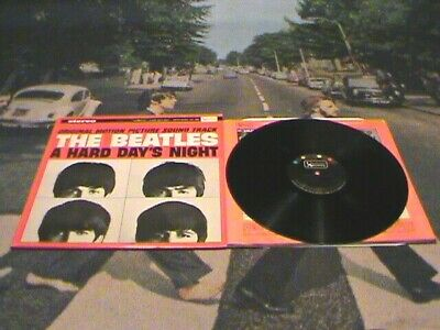 The Beatles A Hard Day's Night Original 1964 Stereo Pressing Clean