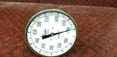 Taylor 5 Inch Bimetal Thermometer 200-700 Degree F 9 Inch Stem - New!