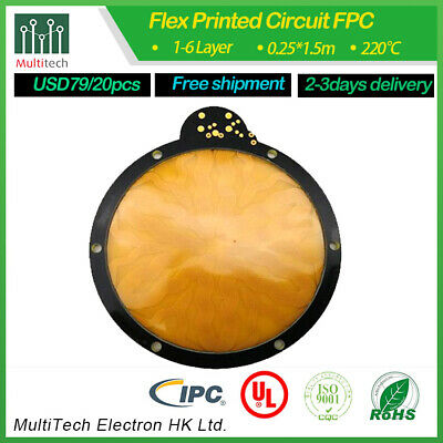 hot sell quick turn FPC Rigid-Flex PCB by multitechmanufacturer China