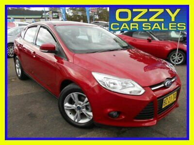 2013 Ford Focus LW MK2 Trend Red Automatic 6sp A Hatchback