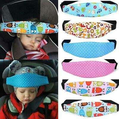 Kids Baby Car Seat Safety Headrest Pillow Sleeping Nap Rest Head Support Pad