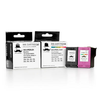 65XL Black and Color Ink Cartridge Combo For HP 2622 2624 2632 2633 2634 2635