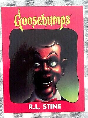 "1996 Goosebumps ""Unused"" Postcard - R.l.stine - #7 Night Of The Living Dummy"
