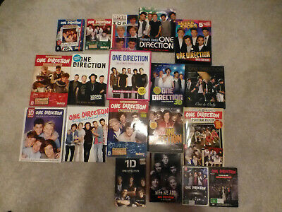 One Direction Books-2 Dvd Sets