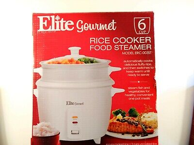 rice cooker, 6 cup, Elite Gourmet, used 4 times