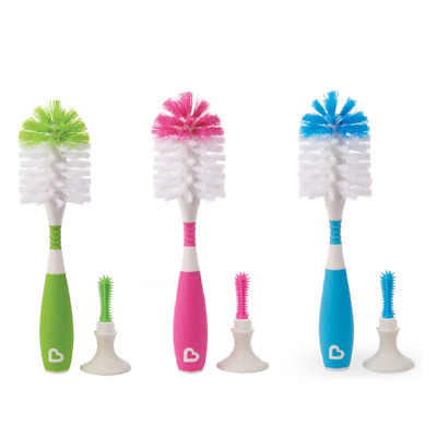 Munchkin Bristle Bottle Brush, Various Colour, Pack of 1
